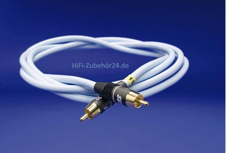 SUPRA SubLink-RCA Mono-Subwoofer-Kabel 2m