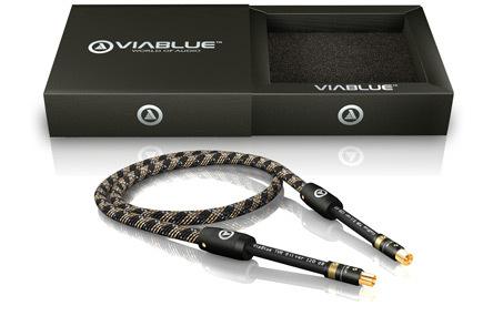 viablue tvr silver 120 db antennenkabel coax stecker. Black Bedroom Furniture Sets. Home Design Ideas