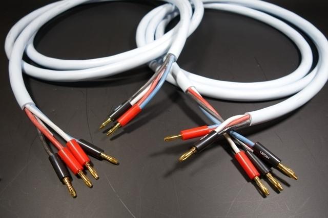 SUPRA Quadrax LS-Kabel Bi-Wire 2x 3m HiC2x4